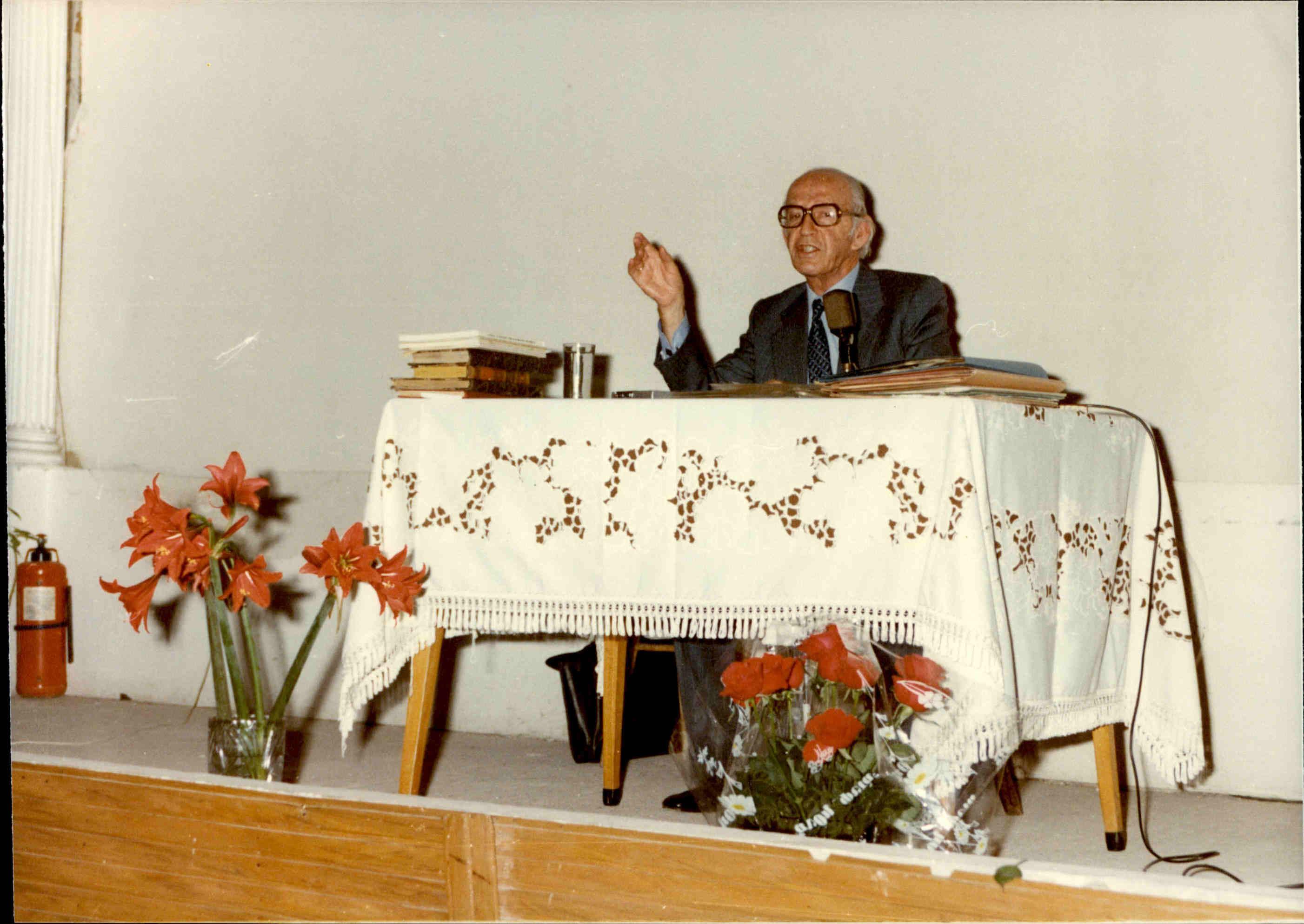 Ομιλία στον Πολύγυρο - Μάιος 1980