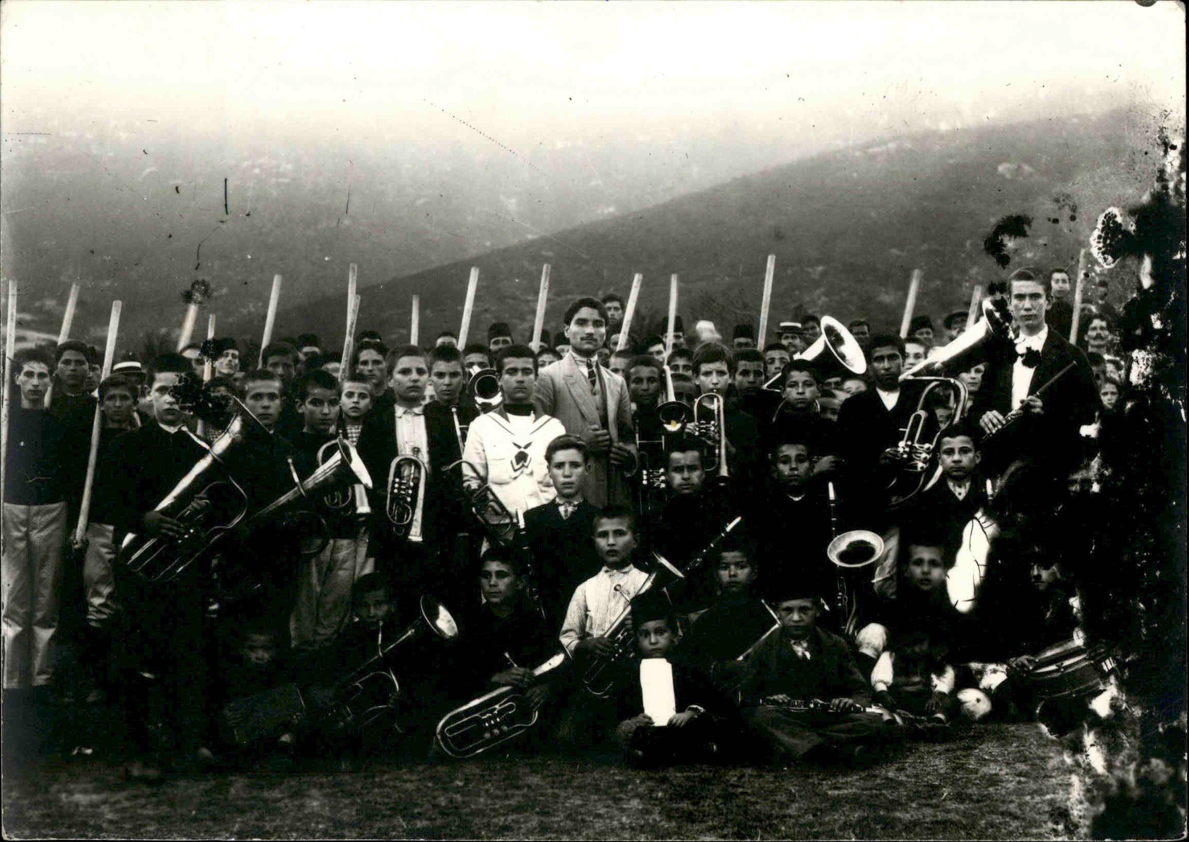 Φιλαρμονική Πολυγύρου 1910