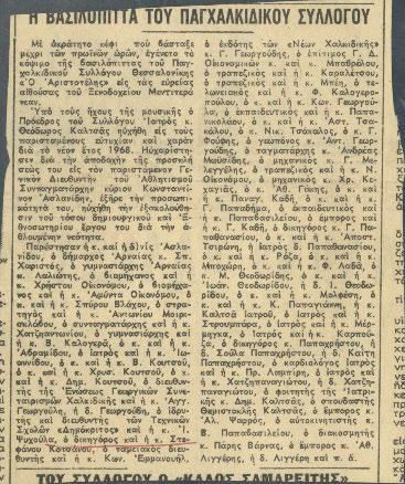 Αποκόμματα Εφημερίδων Διάφορα Νο 12